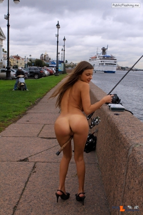 Public nudity photo moccosdoggers:would you like some more women exhibitionists in…