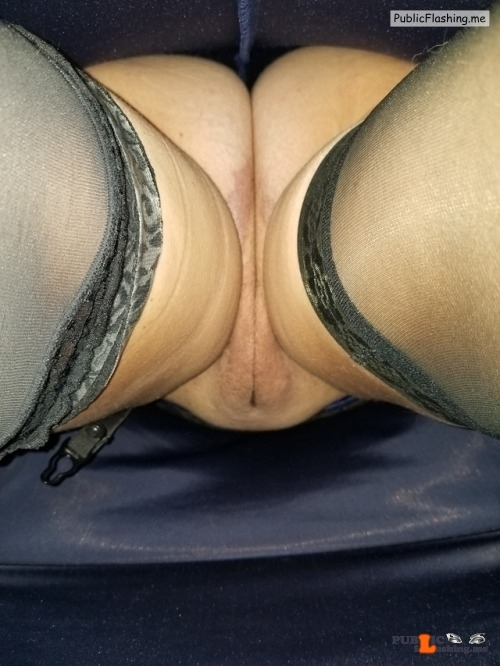 No panties A view up my dress I love this view, thanks for submitting… pantiesless