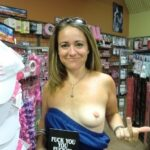 Outdoor nude selfshot Sex shop flashing 5