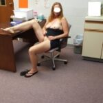 No panties Naughty office submission from @crazyjt69, thanks for sharing pantiesless