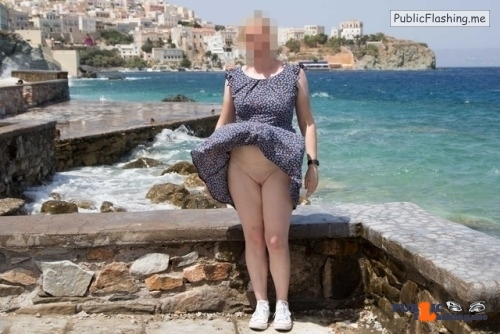 No panties just-my-wife-and-nothing-else: A windy day in europe. Lots of… pantiesless