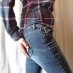 No panties nwhotwife: A little Jean Porn for this fine Monday. After… pantiesless