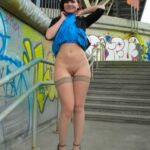 Public flashing photo sexyjenysmith:Front view )