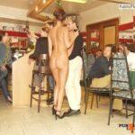 Public flashing photo Photo