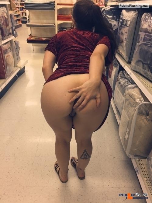 Public flashing photo hotcoupleintraining:Just some late night shopping!! ;) I love…