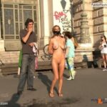 Public nudity photo public-bdsmgo: Follow me for more public exhibitionists:…