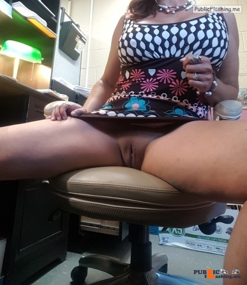 No panties hotwife-goddessdivine: Too hot at work for panties… … at… pantiesless