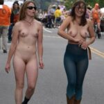 Public nudity photo nudieman:Both are dressed to impress. I approve. Clothing is…