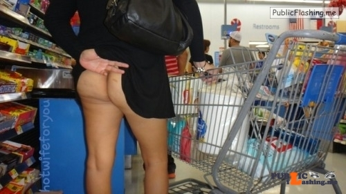 No panties hot-wife-for-you: Almost got cought by two guys getting in… pantiesless