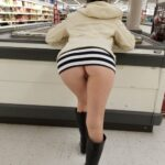 No panties sandt721: sandt721: sandt721: sandt721: Thanksgiving shopping Little trip to the store She… pantiesless