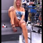 Public flashing photo scottnikipowers:NIKI and I at the Wal-Mart Pharmacy Paradise…