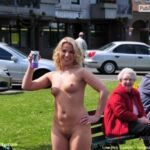 Public nudity photo walkingandswinging: nakedcascadia: #picset – Proud to be exposed…
