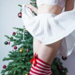 No panties mywishhercommand: Santa's little helper came out to play…Merry… pantiesless