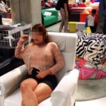 spreadlovemakefriends: Sneak preview of our IKEA shopping… flashing in public picture