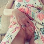 No panties privatelyexposed08: Wifey looking super sexy in her dress she… pantiesless