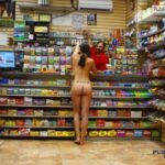 Public nudity photo hiden8kd:when you need some cigarettes for that post-sex…