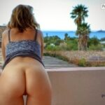 No panties bawft: Balcony with a view / Balcon avec vue pantiesless