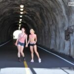 FTV Babes Slow down! 5 MPH. You need to be able to see the pedestrians in…
