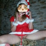 No panties chilipepper2013: Ich wünsche euch einen Tag . Commando Santa pantiesless