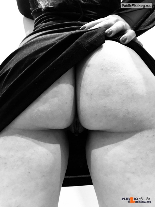 No panties letussharewithyou: A mix of cum, color and black and white ?… pantiesless