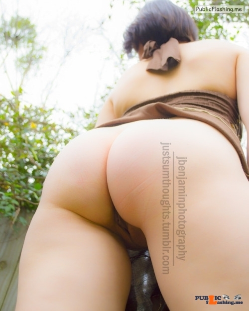No panties justsumthoughts: just hanging out in the backyard pantiesless