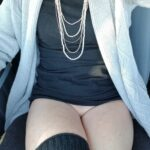 No panties sexyasstexas: His hot wife… Commando car ride pantiesless
