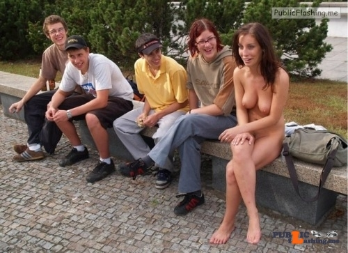 Public nudity photo nakedenfcaptions:I thought we agreed to show up naked today! I…