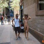 Public nudity photo onlyonen:Hanka P. : a girlfriend without complexes Follow me…