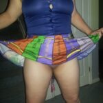 No panties allaboutthefun32: I love when she dresses up as a sexy lil… pantiesless