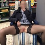 No panties reddevilpanties: Shopping is so much more fun without knickers!… pantiesless