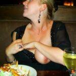 Public flashing photo orgasmic-sexy-flashing:Restaurant Flash