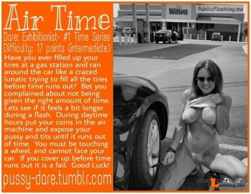 Public flashing photo pussy-dare:Is time relative? You betcha! A minute or two can…
