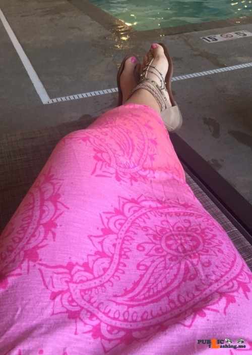 No panties shortsweet-n-sassy: Sundress Saturday….Is that such a thing?… pantiesless