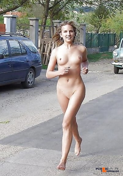 Public nudity photo equus428:Nude jogging,you got to love it Follow me for more…