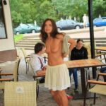 Public flashing photo flashingthepublic: Diner is served. Would you like a bite?