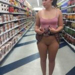 Public flashing photo purepublicnudity:Losing a bet and being dared to flash everyone…