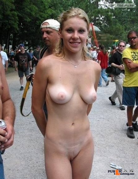 Public nudity photo equus428:She loves showing off that sweet body Follow me for…
