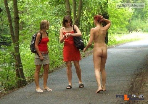 "Public nudity photo nakedenfcaptions: ""I forgot my watch today, could you tell what…"