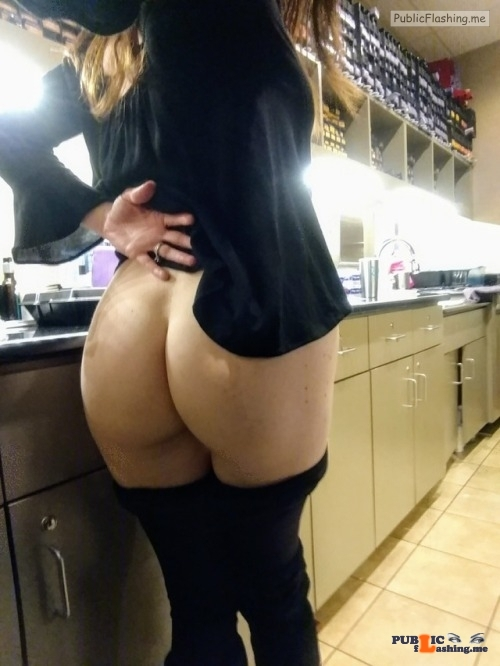 No panties thepervcouple: My wife never wears panties. She also likes to… pantiesless