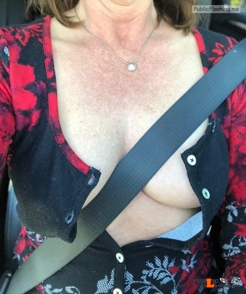 No panties justforfunalways: This is how my driving progresses. pantiesless