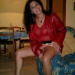 No panties An old picture of my wife as she is about to leave home to go to… pantiesless