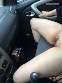 No panties Commando car rides are the best. Thanks for the submission… pantiesless