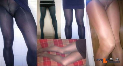 Public Flashing Photo Feed : No panties violetlovespantyhose: A few random photos of me from the last… pantiesless
