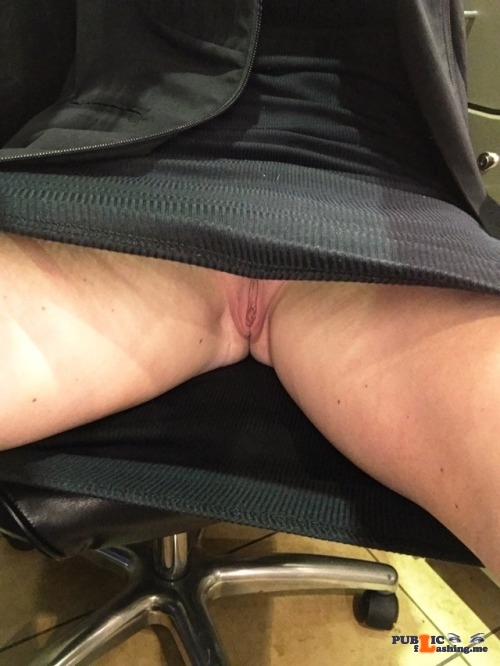 No panties thepervcouple: The view for anyone sitting across from my wife… pantiesless