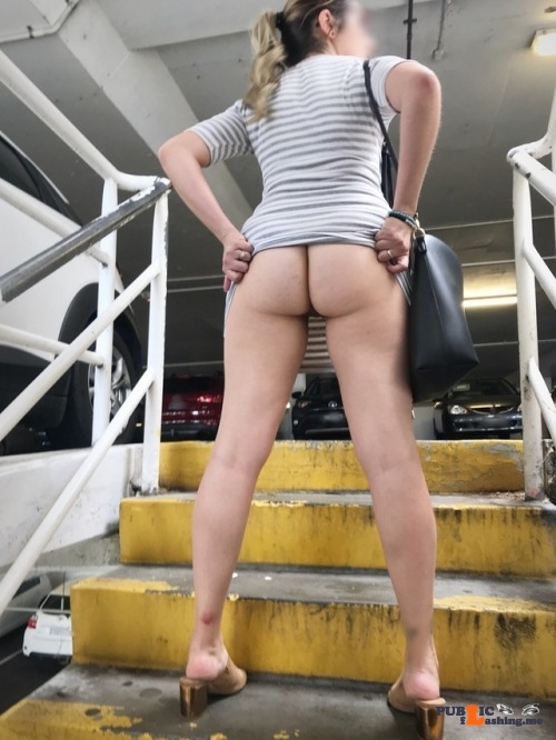 No panties myassisforyou: —All New Part 1— What do you think of my tiny… pantiesless