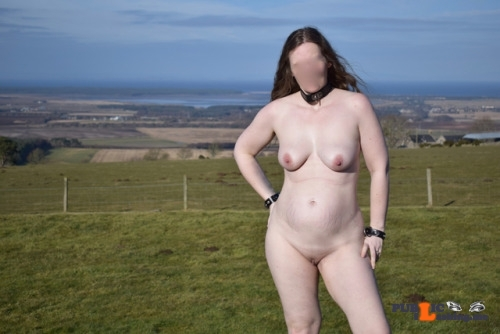 Public flashing photo Mature Slut Wife Flashing at a local viewpoint. Good…