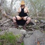 No panties hottiemcboots: #hottiemcboots #real wife #outdoor pantiesless
