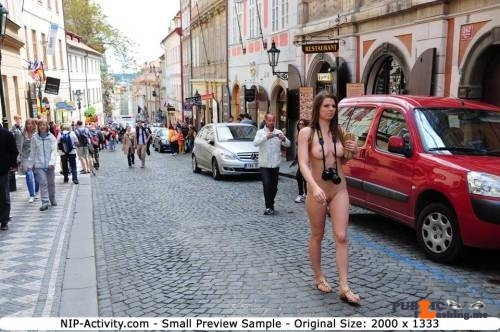 Public nudity photo nipactivity:MonaLee Follow me for more public exhibitionists:…