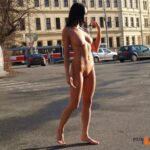 Public nudity photo streakers:Naked Outside Follow me for more public…