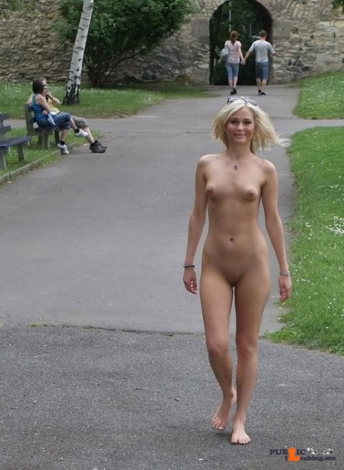 Public Nudity Photo I-Was-Hotlove Her Little Boobs Follow -3437